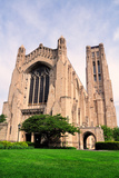 Rockefeller Chapel, University of Chicago Campus Photographic Print by Bruce Leighty