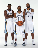 Memphis Grizzlies Media Day Photographic Print by Joe Murphy