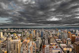 Vancouver Skyline with Dramatic Clouds at Dusk Photographic Print by Alexandre Moreau