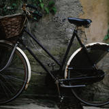 Vintage Bicycle Photographic Print by TERRY MCCORMICK