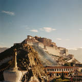 Sunshine in Potala Photographic Print by  Mona