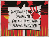 Sanctuary for All Posters