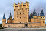 Alcazar of Segovia (Spain) Photographic Print by  Zechal