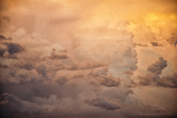 Sunset Sky, Aerial View Photographic Print by Mike Hill