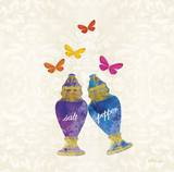 Sunshine Shakers Prints by Meili Andel