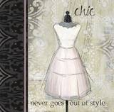 Le Style Chic 3 Prints by Carlie Cooper