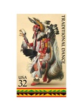 Traditional Dance Prints by  USPS