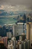 Hong Kong City View Photographic Print by art at its best!