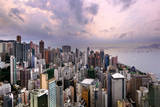 Hong Kong Island West, Hong Kong, 2013 Photographic Print by Joe Chen Photography