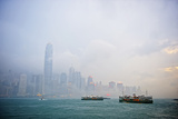 Hazy Victoria Harbour @ Hong Kong_1057 Photographic Print by wsboon images