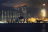 Buildings in Western Kowloon Photographic Print