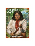 Geronimo Posters by  USPS