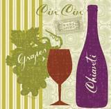 Modern Vino Prints by Lola Bryant