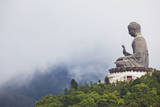 Giant Buddha Po Lin Monastery Hong Kong China Photographic Print by Laurie Noble