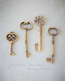 You Hold The Keys Prints by Susannah Tucker
