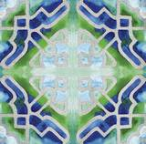 Grand Tile 4 Prints by Edith Lentz