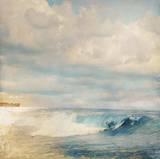 Golden Summer Beach Posters by Matina Theodosiou