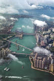 Aerial Image of Infrastructure Photographic Print by  xPacifica