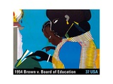 Brown v. Board of Education Print by  USPS