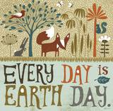 Earth Day Poster by Richard Faust