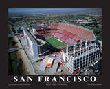 San Francisco 49er's First Game at Levi's Stadium, Santa Clara, California (9/14/14) Poster av Mike Smith