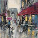 Paris Modern 1 Prints by Brent Heighton