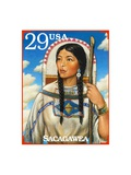 Sacagawea Prints by  USPS