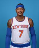 New York Knicks Media Day Photographic Print by Jennifer Pottheiser