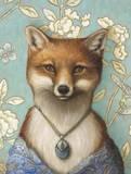 Mrs. Fox Print by Jayne Siroshton