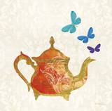 Sunshine Teapot Posters by Meili Andel