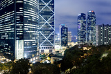 Central and Admiralty, Hong Kong Photographic Print by William C. Y. Chu