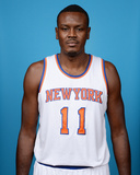 New York Knicks Media Day Photographic Print by Jennifer Pottheiser