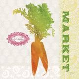 Global Garden Carrots Prints by Bella Dos Santos