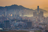 Kowloon Peninsula, Hong Kong Photographic Print by William C. Y. Chu
