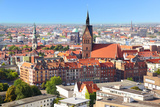 Panoramic View of Hanover City, Germany Photographic Print by  Zoom-zoom