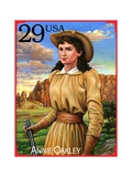 Annie Oakley Poster by  USPS