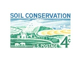Soil Conservation Prints by  USPS