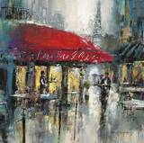 Paris Modern 2 Posters by Brent Heighton