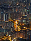High Density of Residential in Hongkong Photographic Print by coolbiere photograph