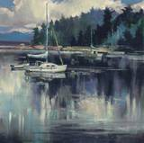 Coastal Shoreline Posters by Brent Heighton