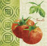 Fresh Linen Tomato Posters by Lola Bryant