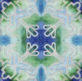 Grand Tile 3 Print by Edith Lentz