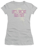 Juniors: Gilmore Girls - Lifes Short T-Shirt