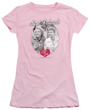 Juniors: I Love Lucy - Best Friends T-shirts