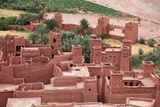 The Kasbah of Ait Benhaddou, Morocco Photographic Print by  zanskar