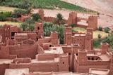 The Kasbah of Ait Benhaddou, Morocco Prints by  zanskar