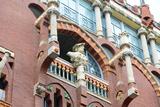 Sculpture at Palau De La Musica Catalana Fotografisk trykk av  jiawangkun