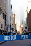 Boston Police Barrier Posters by Mr Doomits