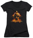 Juniors: Gladiator - My Name Is V-Neck Womens V-Necks