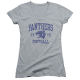 Juniors: Friday Night Lights - Panther Arch V-Neck T-Shirt